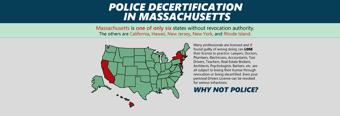 Police Decertification in MA – Community Town Hall Forum MON 3/28
