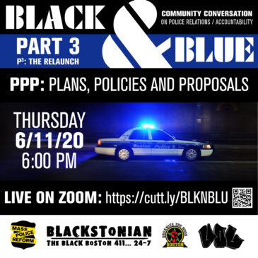 Black & Blue III – PPP (Plans, Policies & Proposals)